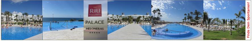 Willkommen auf der Riu Palace Meloneras-Webseite von ihr-ferienpartner.de (Reisebüro Selzer)