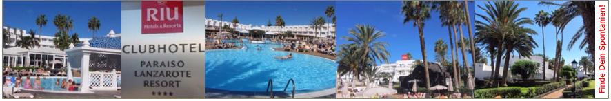 Willkommen auf der Riu Paraiso Lanzarote Resort-Webseite von ihr-ferienpartner.de (Reisebüro Selzer)