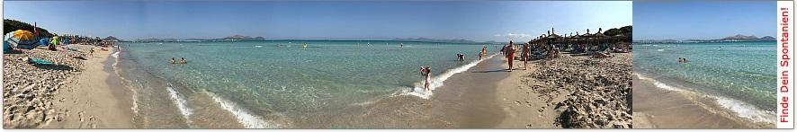 Traumhafte Playa de Muro