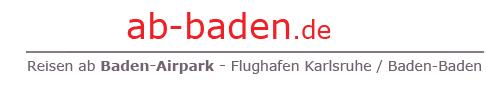 Willkommen auf der Webseite www.ab-baden.de der Website für Reisen ab Baden Airpark (Flughafen Karlsruhe/Baden-Baden) - powered by ihr-ferienpartner.de (Reisebüro Selzer)