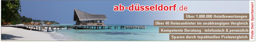 Reisen ab Airport Düsseldorf nach Mallorca, Ibiza, Gran Canaria, Kreta und vieles mehr.