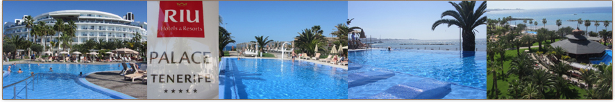 Willkommen auf der Riu Palace Tenerife-Webseite von ihr-ferienpartner.de (Reisebüro Selzer)