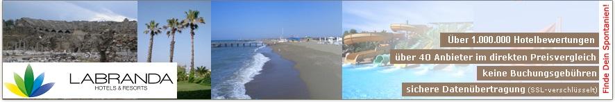 Willkommen auf der Club LABRANDA Ephesus Princess-Webseite von ihr-ferienpartner.de (Reisebüro Selzer)