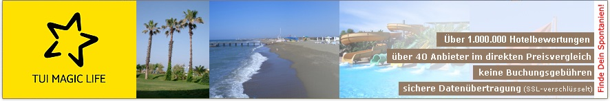 Willkommen auf der TUI MAGIC LIFE Masmavi-Webseite von ihr-ferienpartner.de (Reisebüro Selzer)