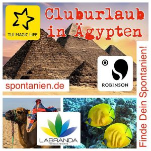 Cluburlaub in Ägypten
