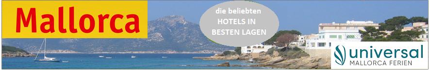 Die Universal Hotels auf Mallorca im Preisvergleich buchen.