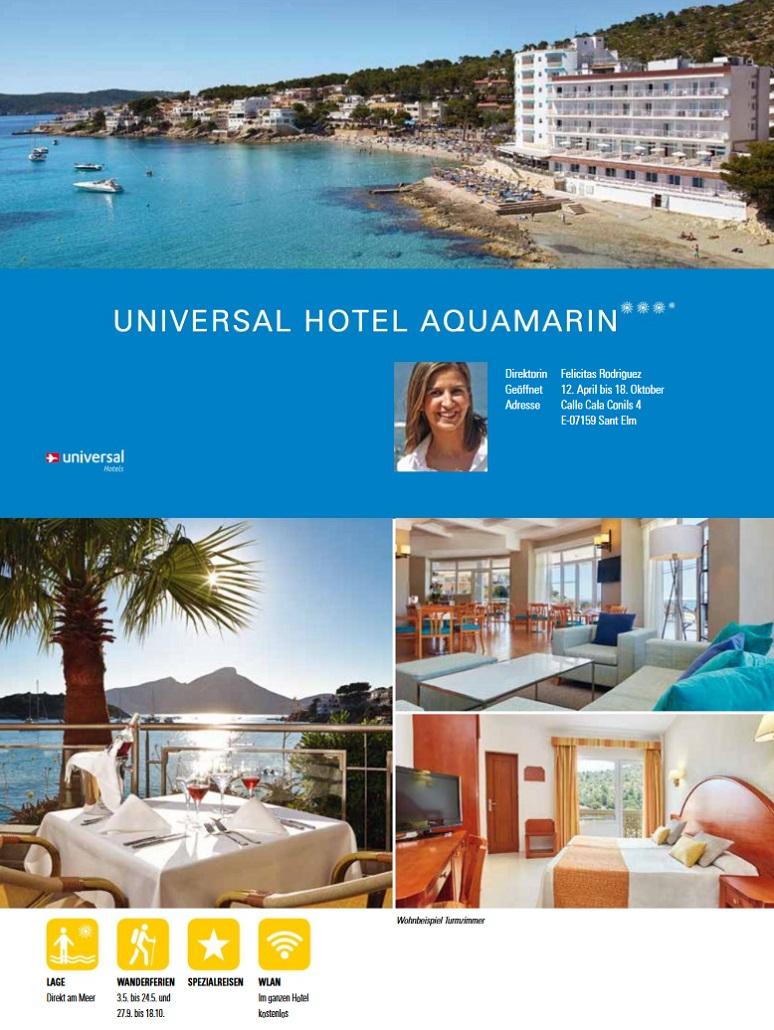 Hotel Aquamarin Beschreibung