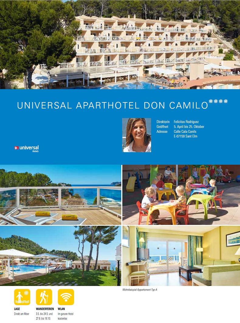 Hotel Don Camilo Beschreibung