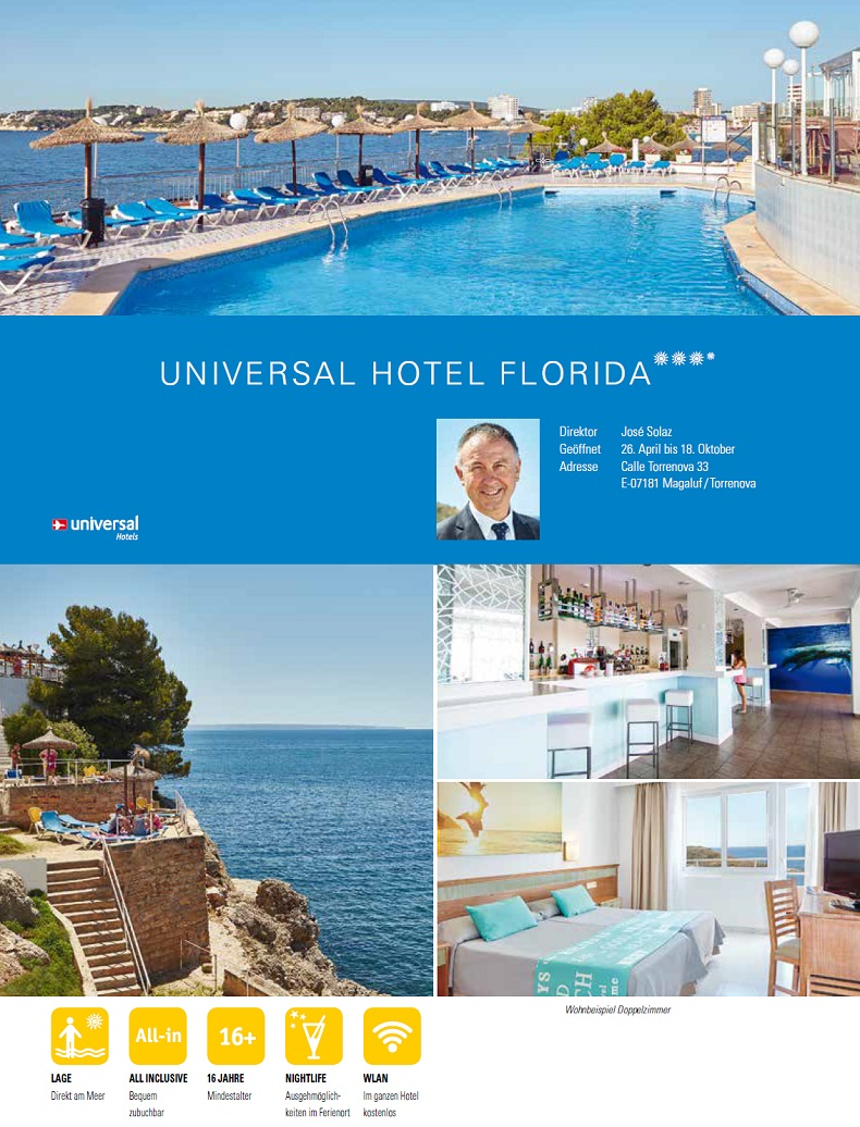 Hotel Florida Beschreibung