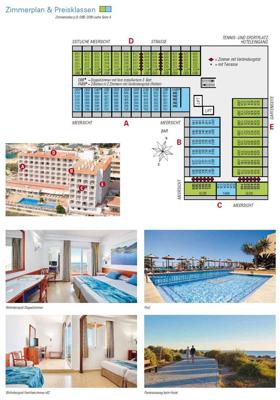 Hotel Marques Zimmerkategorien, Zimmerplan und Bilder