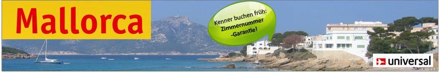Hotels in den besten Lagen von Mallorca, tolle Strandhotels, sehr beliebt